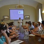 Львів відвідала делегація Житомирської міської ради