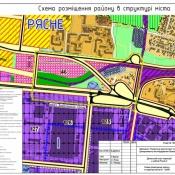 Представлено проєкт детального плану території  у районі Рясне - 2