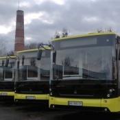 Місто отримало 100 МАЗів і 25 автобусів «Електрон»