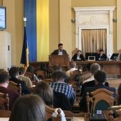 У Львові відбулася Перша молодіжна сесія міста